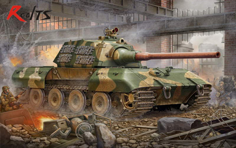 Trumpeter Model 00384 1/35German E 100 Super Heavy Tank Model Kit