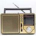 Античная урожай ретро полный 20-полосный портативный FM радио старшего возраста рабочего поддержка USB пожилых бытовая электроника подарок бесплатная доставка
