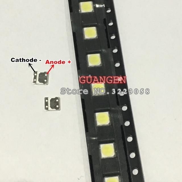 original 80pcs FOR L Innotek LED LED Backlight High Power LED 2W 6V 3535 Cool white LCD Backlight for TV NEW