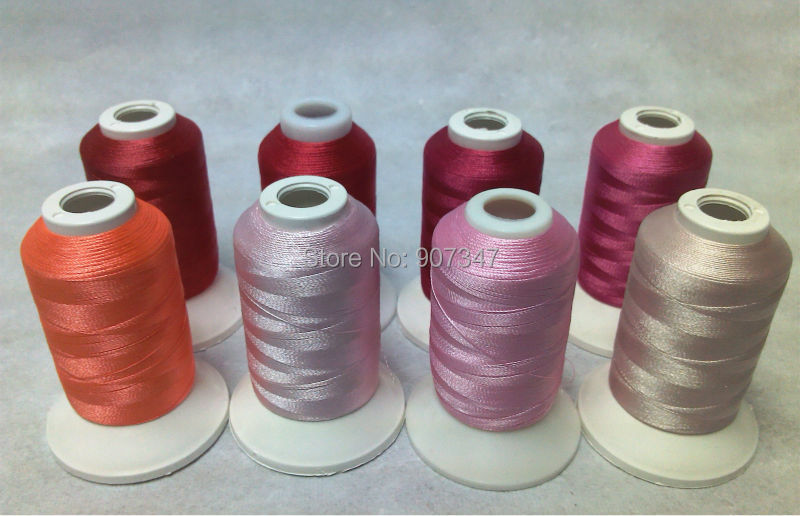 Pretty In Pink Series Simthread 100 Polyester Embroidery Thread