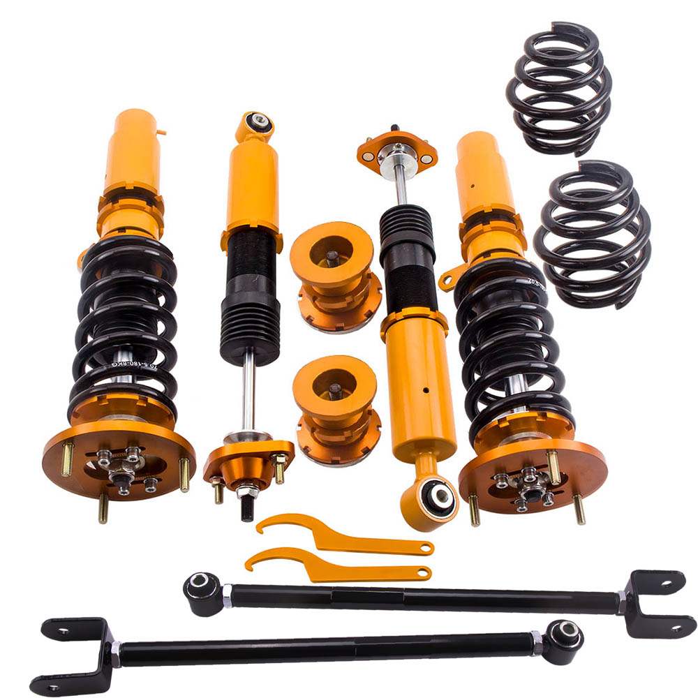 COILOVER BMW E36 ADJUSTABLE SUSPENSION TIEF-TECH NEW NEXT DAY DELIVERY