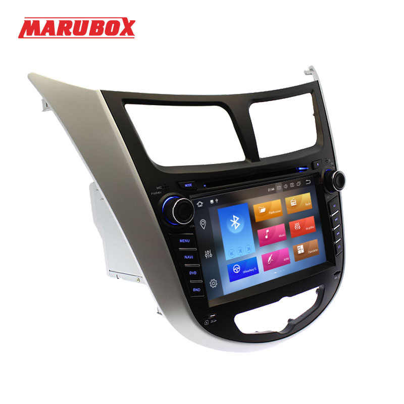 "MARUBOX 7A300PX5DSP 2 Din Android 8,0 4G RAM 7 ""para HYUNDAI Solaris 2012-2016 Verna acento Radio reproductor Multimedia GPS DVD para coche"