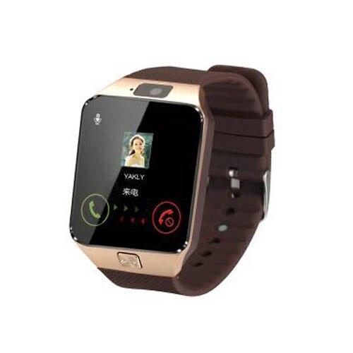 48eb74df4 HOK DZ09 reloj inteligente Bluetooth Cámara deportiva reloj compatible con tarjeta  SIM TF para teléfono Android IOS con caja de venta al por menor ruso ...