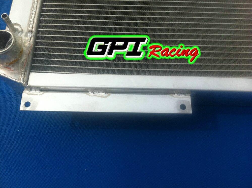 FOR ROVER MG MGB GT V8 1973-1976 73 74 75 Aluminum Radiator /& FAN
