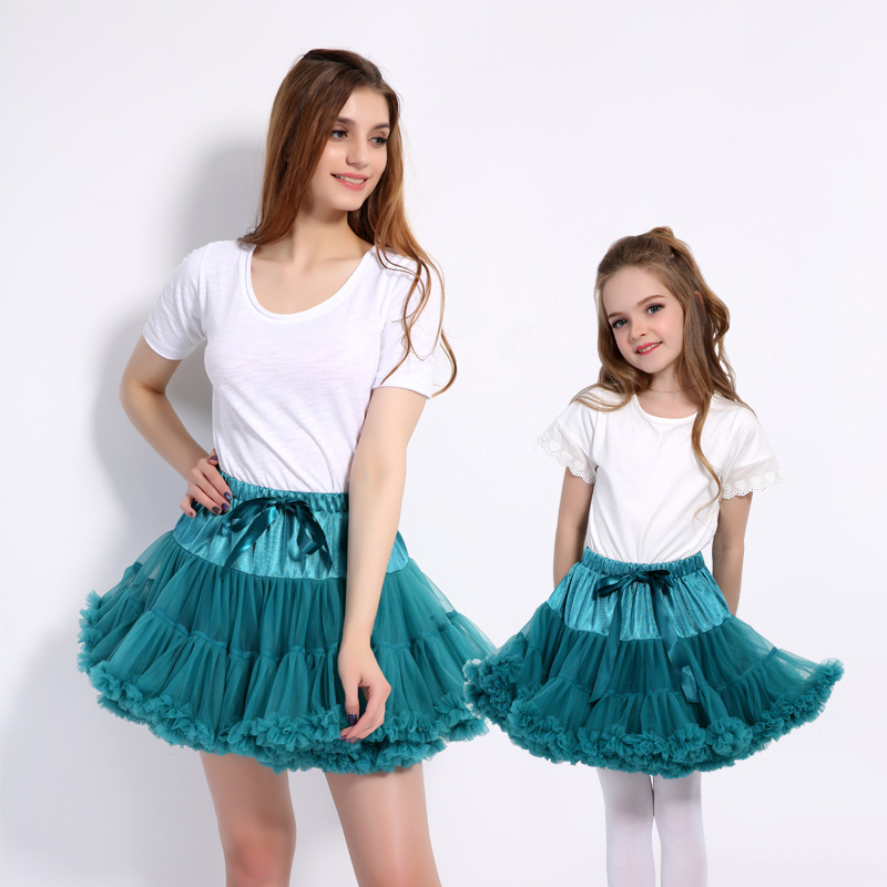 6880ae23af43 2018 Fashion Kids Summer Clothes Floral Chiffon For Girls Loose Fit Cute  Ball Gown Princess Skirt Wedding Skrits Eight Colors-in Skirts from Mother    Kids ...