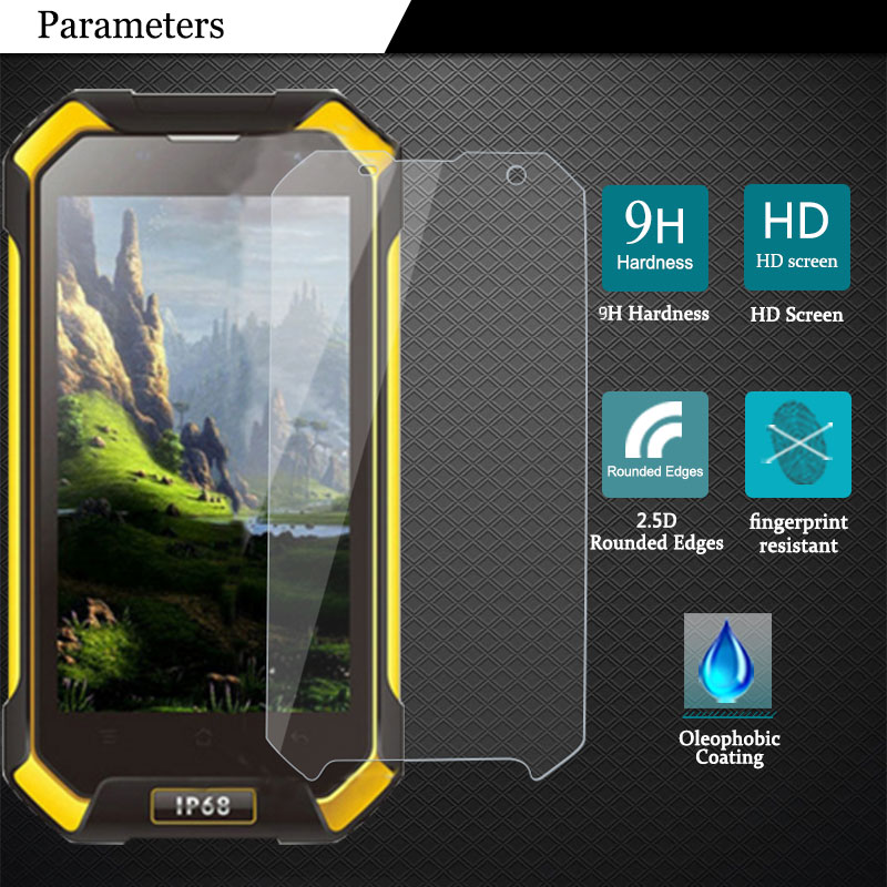 """Blackview BV6000 Screen Protector 9H 2.5D Tempered Glass Film Blackview BV6000S BV 6000 4.7"""" Phone Protective Films(China)"""