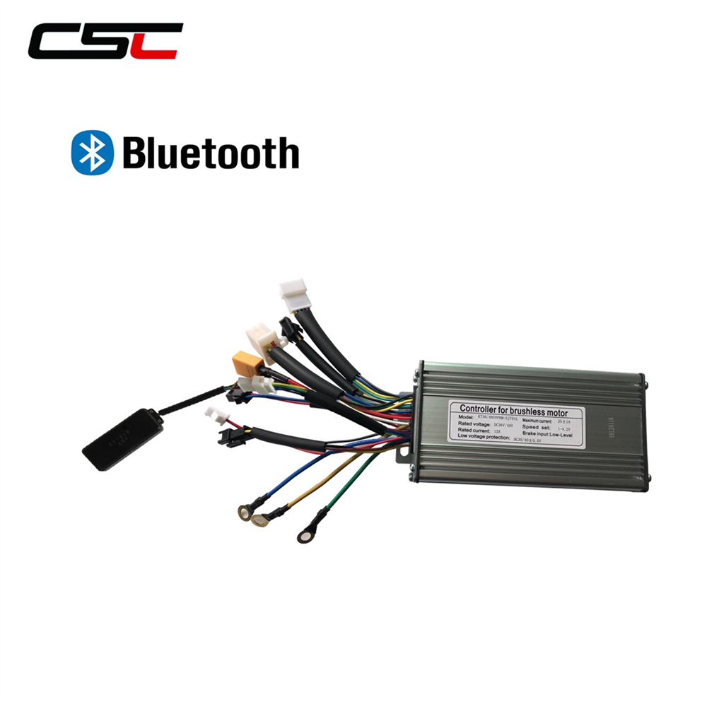 Motor Brushless Controller 6 Tube 15A Controller for Electric Bike Bicycle Scooter Accessory Powerful Motor E-Bike Conversion