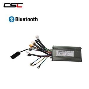 Image 2 - ebike Controller 6 9 12 18 Mosfet 36V 48v e Bike Controller Sine Wave/ Dual Mode Brushless KT Electric Controller