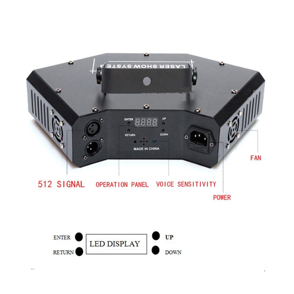 Image 3 - disco laser light RGB full color beam light dj effect projector scanner laser stage lighting-in Stage Lighting Effect from Lights & Lighting on
