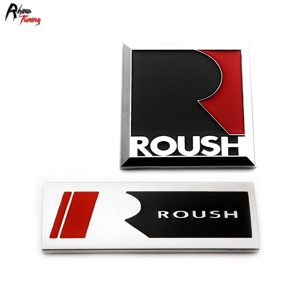 Rhino Tuning 5PCS ROUSH Performance Metal Square R Car Body Side Fender Rear Emblem Badge Sticker 876 performance evaluation of control schemes using various tuning methods