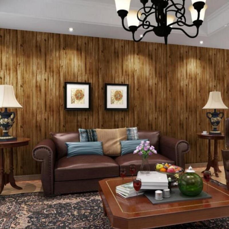 ФОТО Mediterranean retro nostalgia graining vertical stripes Beibehang wallpaper bedroom wallpaper shop for TV backdrop
