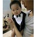 Tuxedo Baby Bodysuits short sleeve body suits baby shortalls 100% COTTON