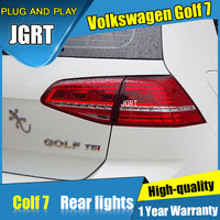 4PCS Car Styling For VW Golf 7 Taillights 2013 2015 For Golf 7 LED Tail Lamp