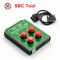 2018 Newest SBC reset tool for Mercedes for BenZ W211 R230 ABS SBC Reset Tool--Recovery by OBD Directly Free Shipping