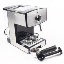 DMWD 1.25L кофеварка Полуавтоматическая эспрессо Кофе машина электрическая молока пенообразователя молоко пенообразователь Кофе чайник высокого Давление пара 20 бар