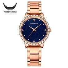 2016 Llegó El Nuevo Horario de Cuarzo de Acero Inoxidable Reloj de Las Mujeres de Lujo Reloj de Señoras de La Manera Relojes Casuales Relógio Feminino