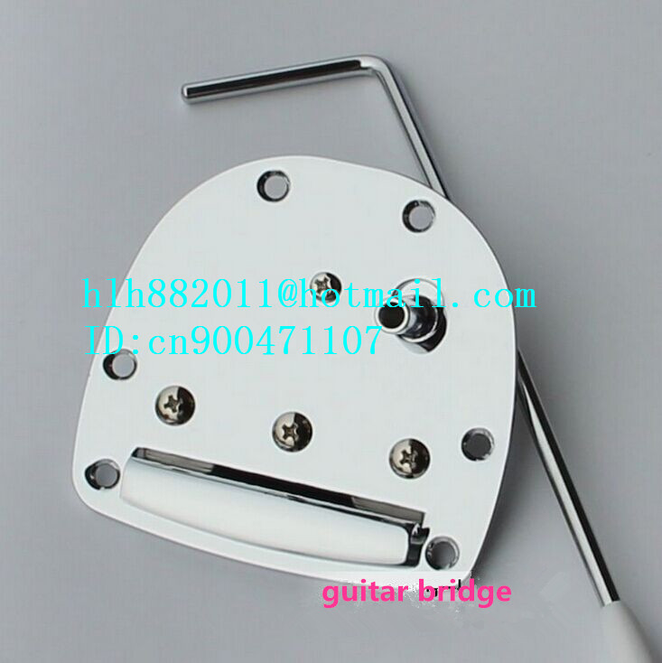 free shipping new electric guitar tremolo Trem Vibrato bridge in chrome roja parfums united arab
