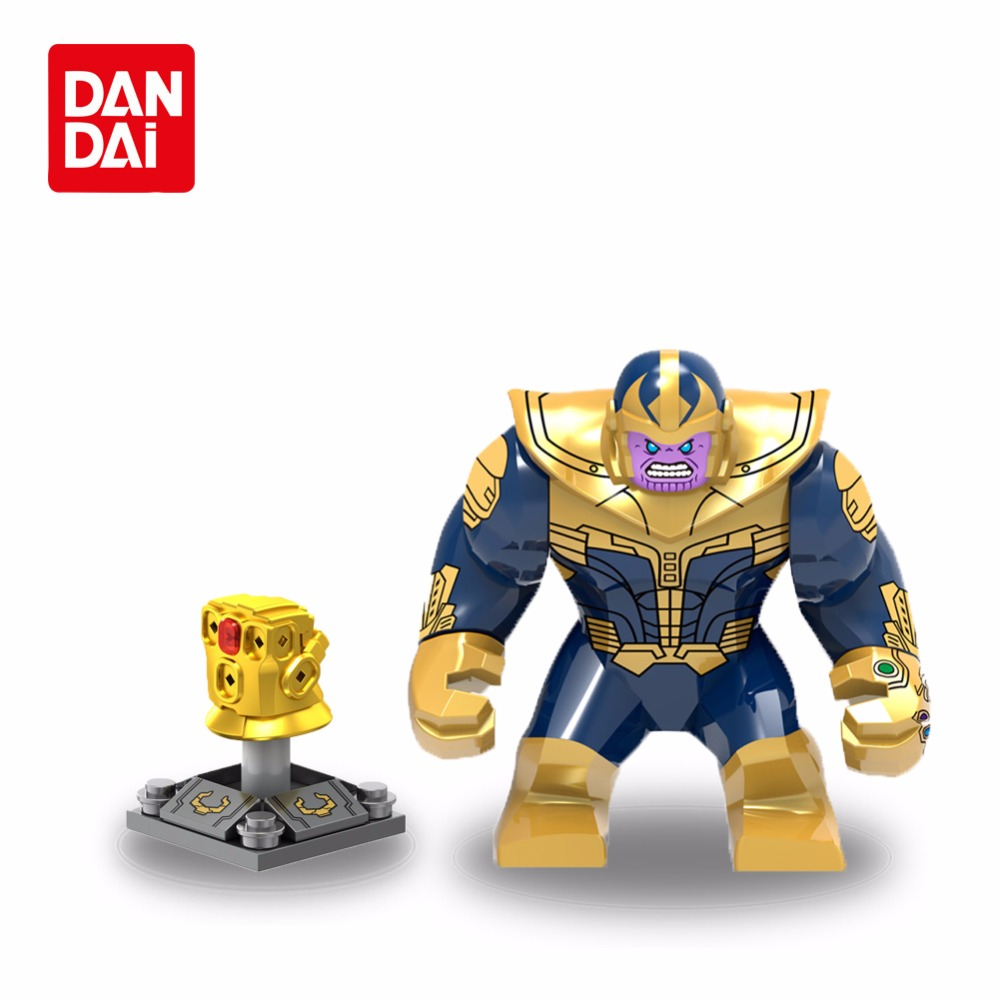 Marvel Super Heroes legoing Infinity War Thanos Guardians of the Galaxy iron man Avengers flash Building Blocks Toys Figures