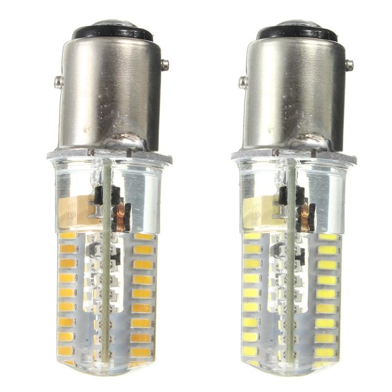 купить New Arrival BAY15D 1157 72 LED 3014 SMD Silicone Crystal Marine Lights Boat Lamp Bulb AC/DC12-24V Warm Pure White недорого