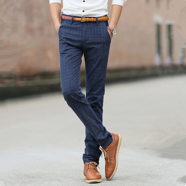 De Vestir Para Hombre денди Calca Vestido социальных офисный костюм формальные тонкий платье мужские весенние стрейч корейской Lunga брюки