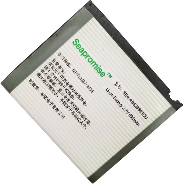 Freeshipping AB423643CU bateria (AB423643CC AB423643CE) para samsung X828 D830 D838 E840 F589 F639 U100 U308 U600 X820