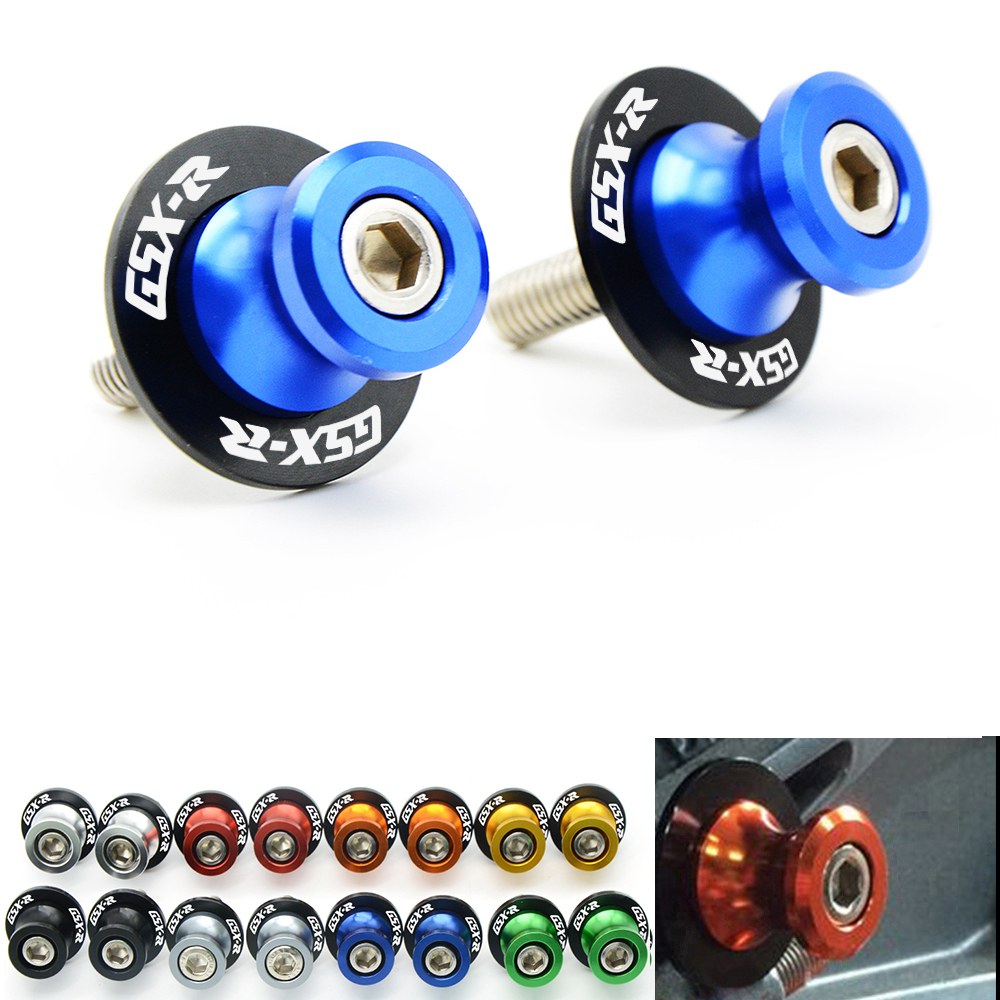 motorcycle accessories Motorcycle CNC Swingarm Sliders Spools For SUZUKI GSXR 2006 GSXR 600 K6 GSXR 750 GSXR 1000 K7 K9 GSXR1000 цена 2016