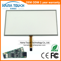 Win10 Compatible 16 10 19 Inch 5 Wire Resistive USB Touch Panel Overlay Kit USB Touch