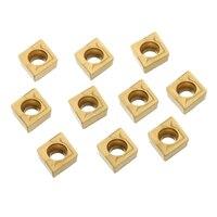 us735 כלי 10pcs זהב והתוספות CCMT060204 US735 והתוספות CCMT21.51 עם תיבת עבור CNC הפעלת כלי (4)