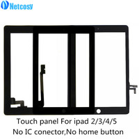 For Ipad 2 3 4 5 Touch Screen Digitizer Glass Panel Repair For Ipad 2 3