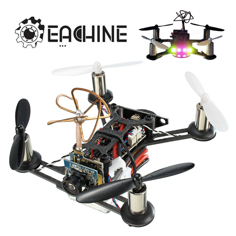 Original Eachine Tiny QX95 95mm Micro FPV LED RC Racing Drone Quadcopter Based On F3 EVO Brushed Flight Controller RC Models Toy mimi rc plane 90mm micro fpv racing