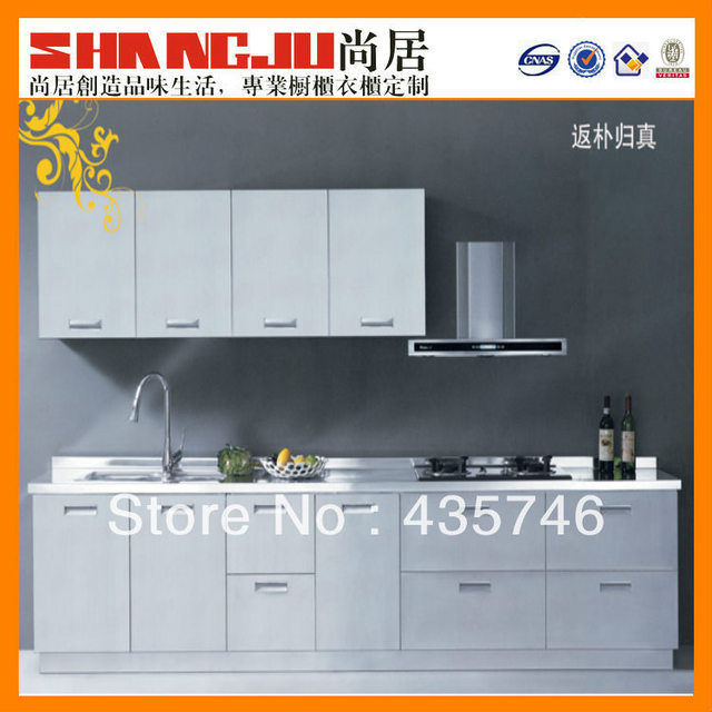 kitchen cabinet with pantry design in new shape