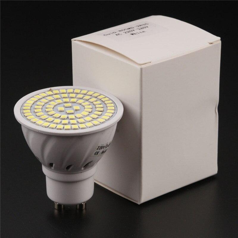 Купить с кэшбэком E27 GU10 MR16 36/54/72 LED Full Spectrum Planting Grow Light Bulb Veg Hydroponic Lamp 3/4/5 W 110/220 V Led Lights for Home