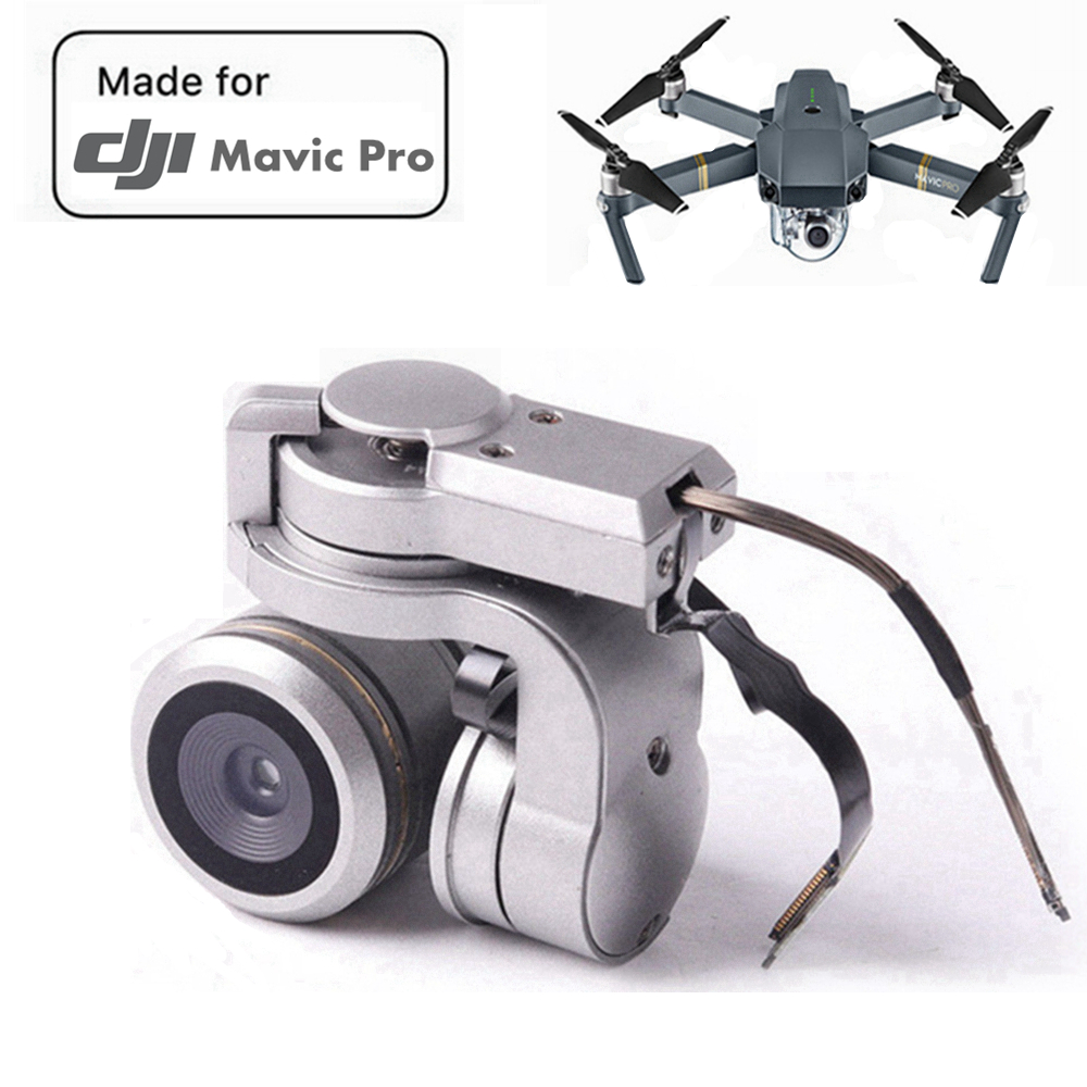 100% Genuine Mavic Pro Camera DJI Mavic Pro Gimbal Camera Lens FPV HD 4K Cam Original Repair Part for DJI Mavic Pro Gimbal Kit dji mavic pro 4k квадрокоптер бпла черный