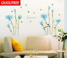 Decorate buttlefly leaf flower art wall sticker decoration Decals mural painting Removable Decor Wallpaper LF-1802