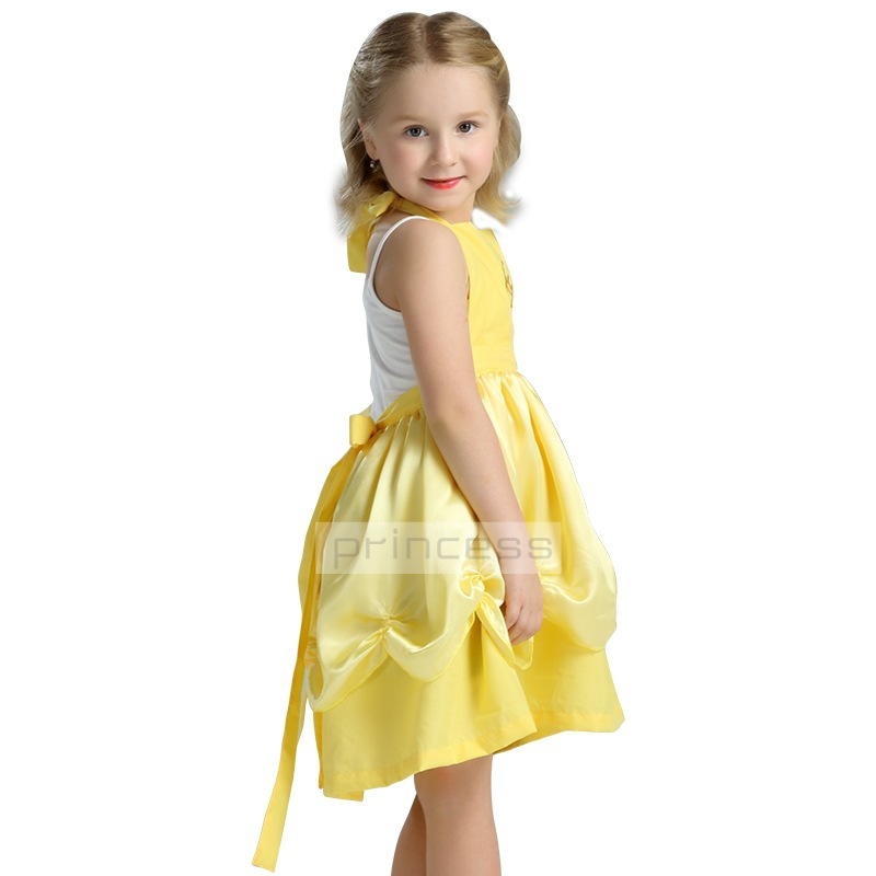 Little Girls Summer Belle Dresses Princess Costume Party Clothing ...