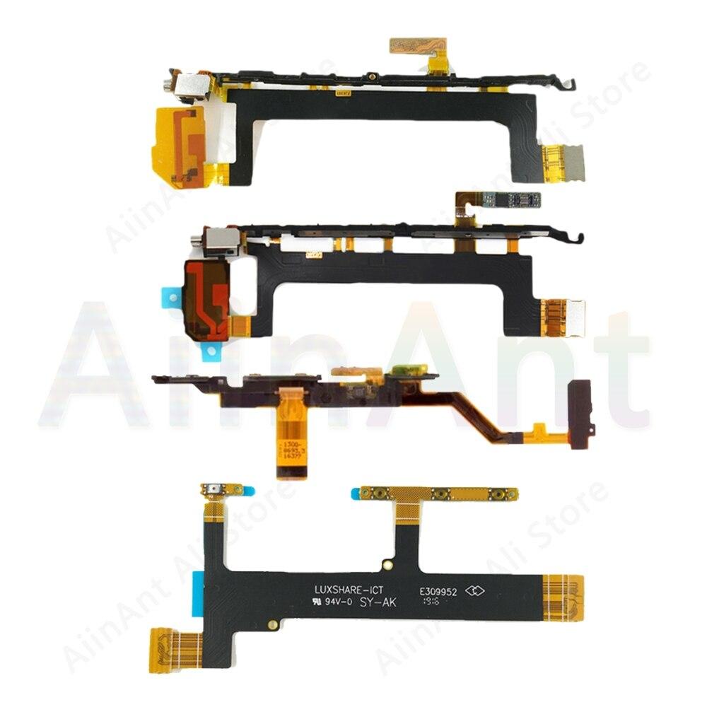 Per Sony Xperia X XA XA1 XA2 XA3 1 2 3 Plus Ultra Compatto Premium Power/Volume Tasti Laterali chiave di Alimentazione Cavo Della Flessione