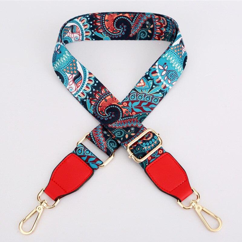 75-140cm Stripe Crossbody Handbag Detachable Replacement Shoulder Strap Webbing Gold Lobster Bag Belts Accessories