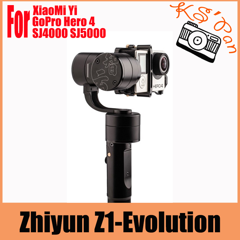 Zhiyun Z1-EVOLUTION EVO 3 Axis Handheld Stabilizer Brushless Gimbal for GoPro Hero 4 for XiaoMi Yi forSJ4000/5000 Sport Cameras