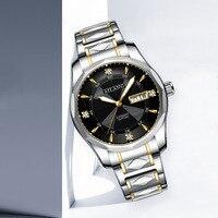 NEW automatic watch men reloj automatico de hombre reef tiger starking orologio automatico sport watch pilot sewor otomatik saat