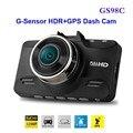 Бесплатная Доставка!! оригинал GS98C LA70 Ambarella A7 Автомобильный ВИДЕОРЕГИСТРАТОР Full HD Видеорегистратор 2304*1296 P 30FPS с G-Sensor HDR + GPS Тире Камерой