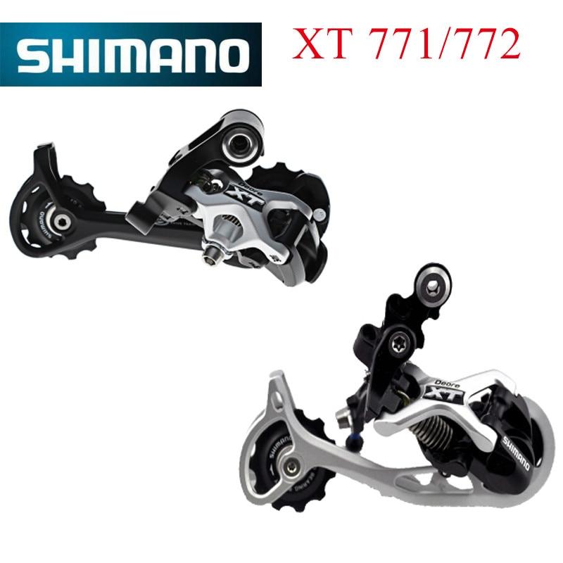 купить shimano DEORE XT RD-M771 M772Rear Derailleur 9S MTB bike bicycle M771 M772 недорого