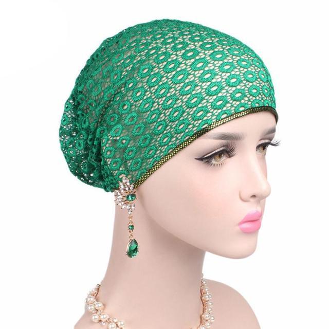 2017 Women Cancer Chemo Hat Beanie Scarf Turban Head Wrap Cap Headdresses  For Women Touca Inverno Feminina  EW 509bc8c0b59