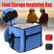 Portable Cooler Lunch-Box Cake-Insulated-Bag Ice-Pack Delivery Food Picnic Waterproof