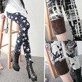 Impressos Leggings de Lã Forrado de Inverno Além de Veludo Espessamento Legging Estiramento Calças Senhora Mulheres Calças de Inverno Feminino Leggins