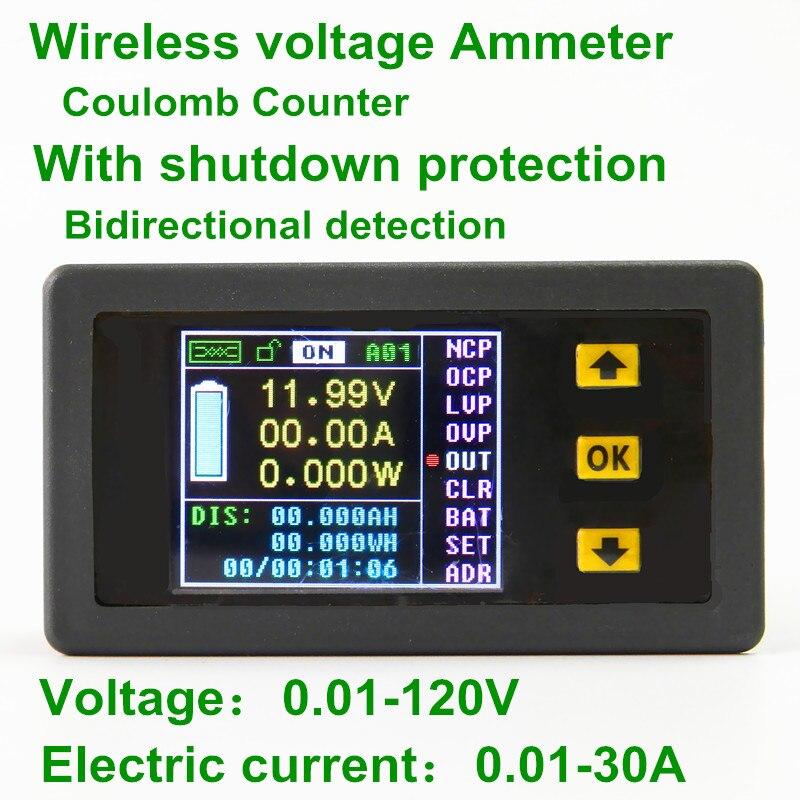 Dc 0-50a Digital Led Amp Current Meter Ammeter 12v 24v Display Ampere Meter High Standard In Quality And Hygiene Electronic Components & Supplies