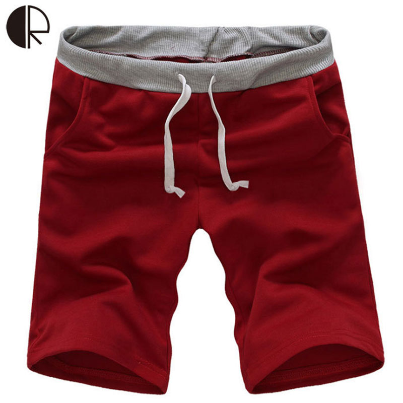 2016 Brand Shorts For Male Comfortable Bermuda Shorts Men Beach Trousers Short Casual Solid Trousers Men