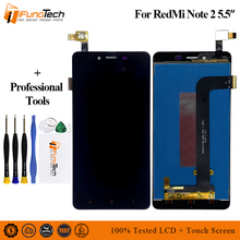 AAA Quality LCD For Xiaomi Redmi Note 2 LCD Display Screen Replacement For Hongmi Note 2 Digitizer assembly Note2 With Frame 5.5 100% new for xiaomi redmi 2 lcd display digitizer touch screen replacement hongmi 2 redmi 2 pro prime 2a parts with free tools