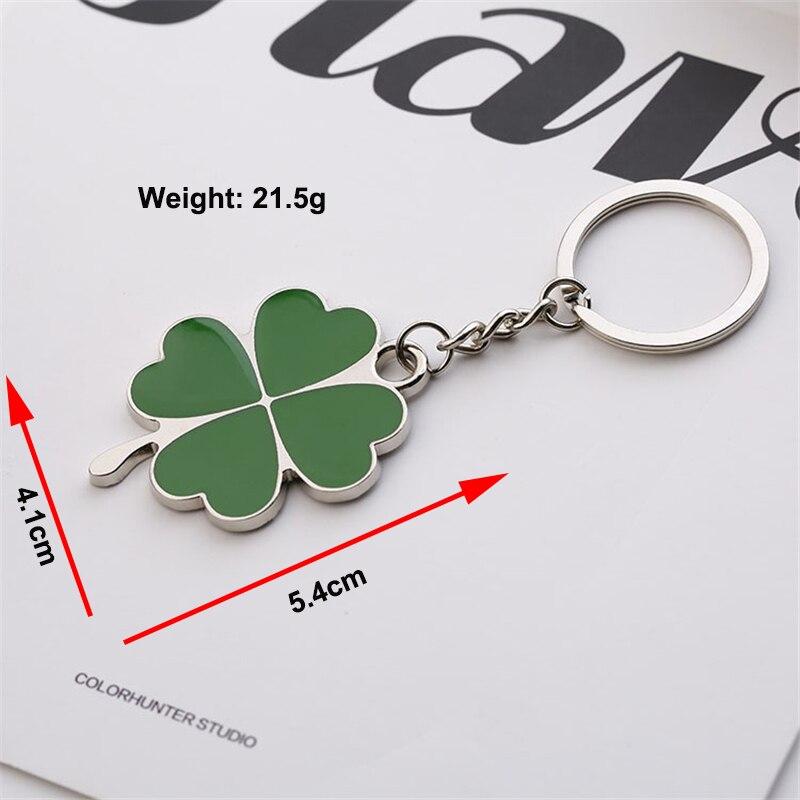 Four Leaf Clover keychain (6)