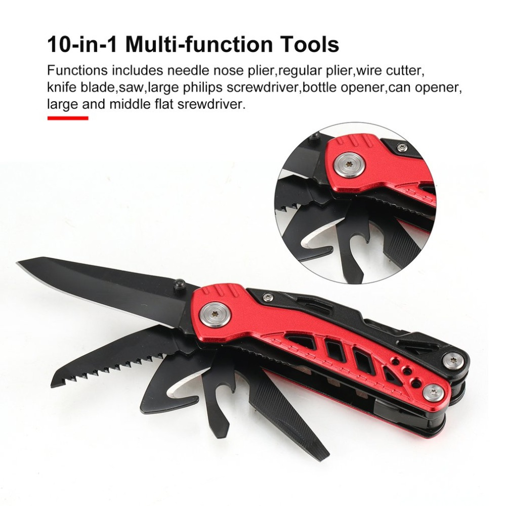 New Outdoor Multitool Pliers Serrated Knife Jaw Hand Tools Portable Screwdriver Pliers Knife Set For Survival Camping