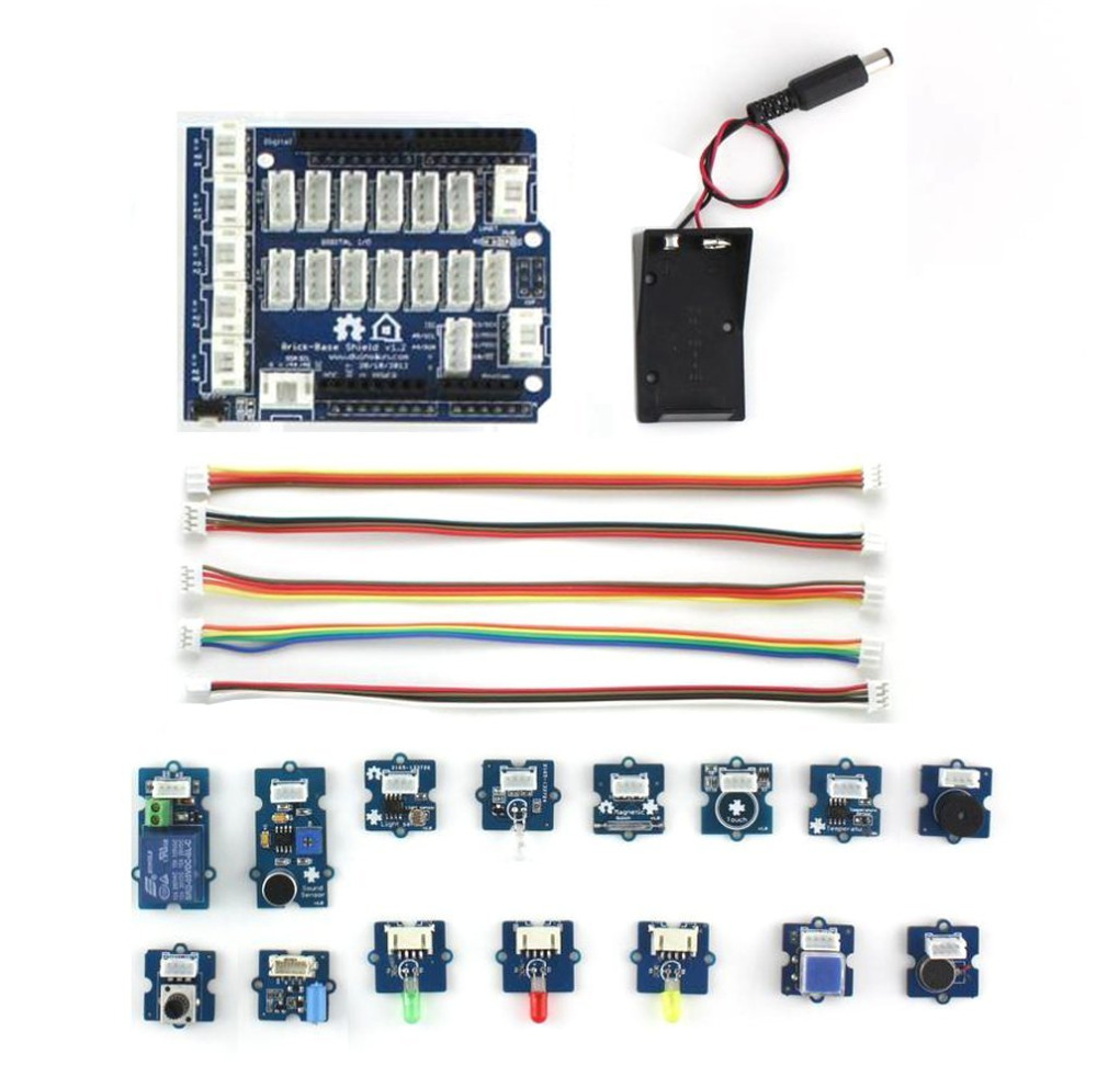 Electronic Building Block Module Kit With Expansion Board for Arduino цены